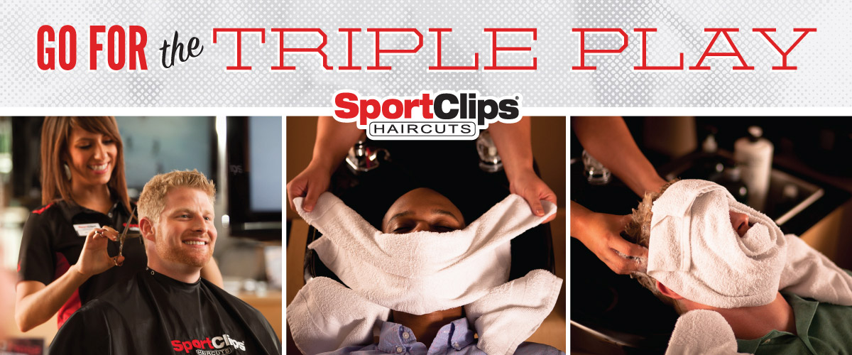 The Sport Clips Haircuts of Wyckoff at Boulder Run  Triple Play